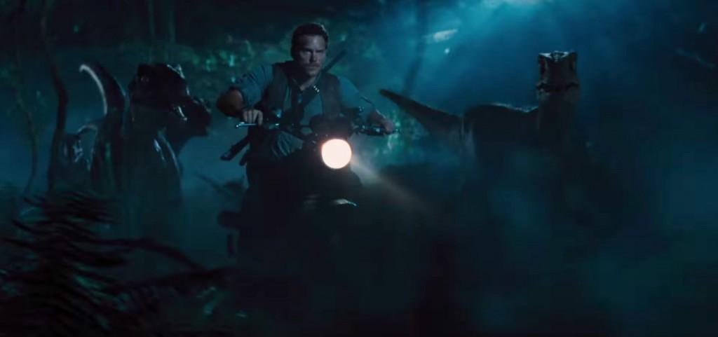 Bilde fra den nye «Jurassic World»-traileren.