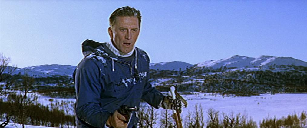 Kirk Douglas i «Heroes of Telemark».