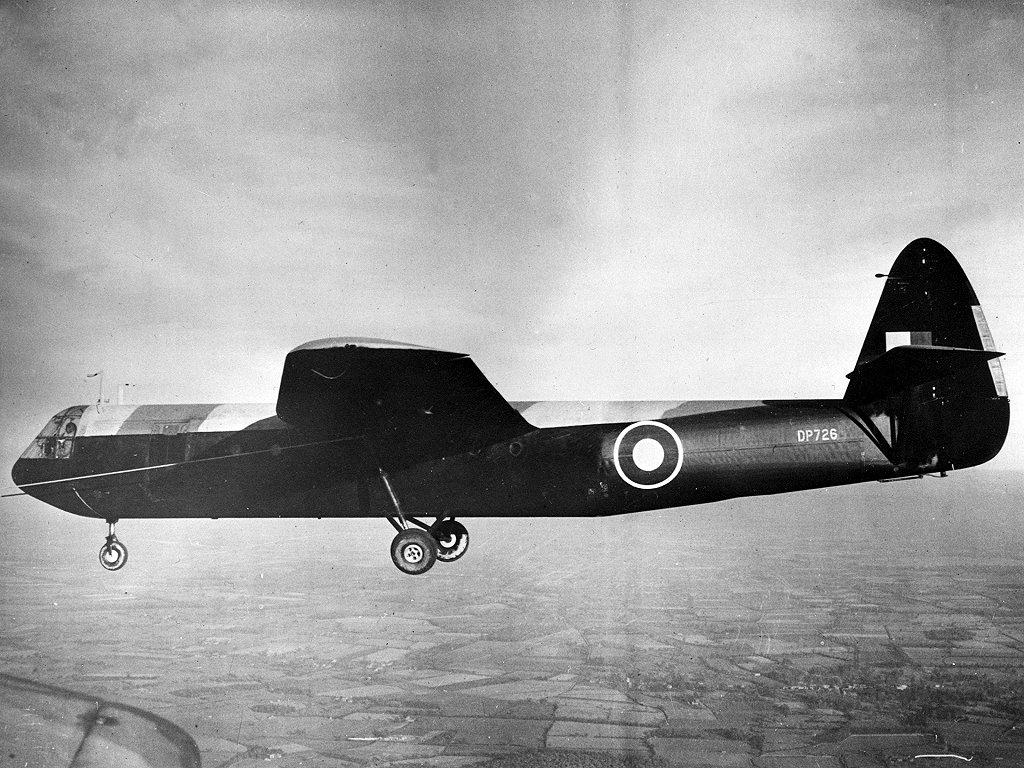 Britisk Horsa-glidefly, som brukt under operasjon Freshman. Foto: ukjent, Wikimedia Commons.
