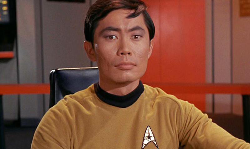 George Takei som Mr. Sulu i «Star Trek».