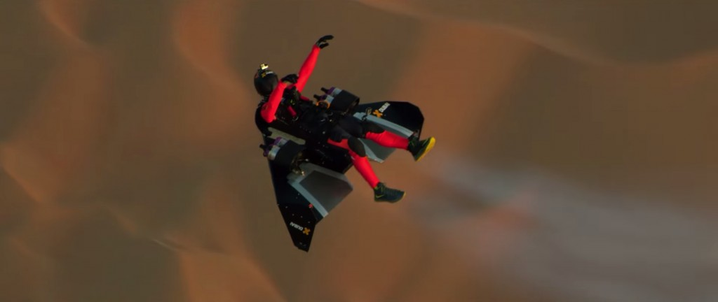 YouTube-faksimile fra Jetman Dubai : Young Feathers 4K