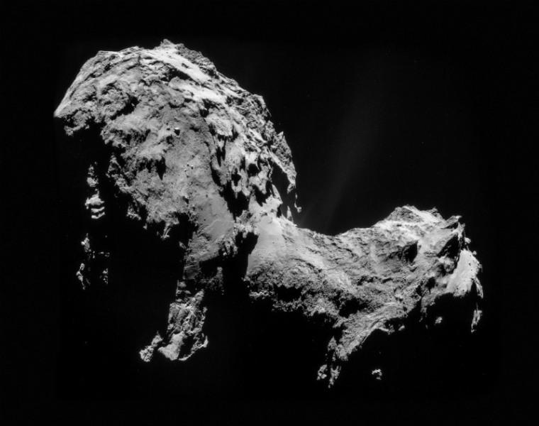 Kometen, 67P/T–G. Foto: ESA/Rosetta/NAVCAM