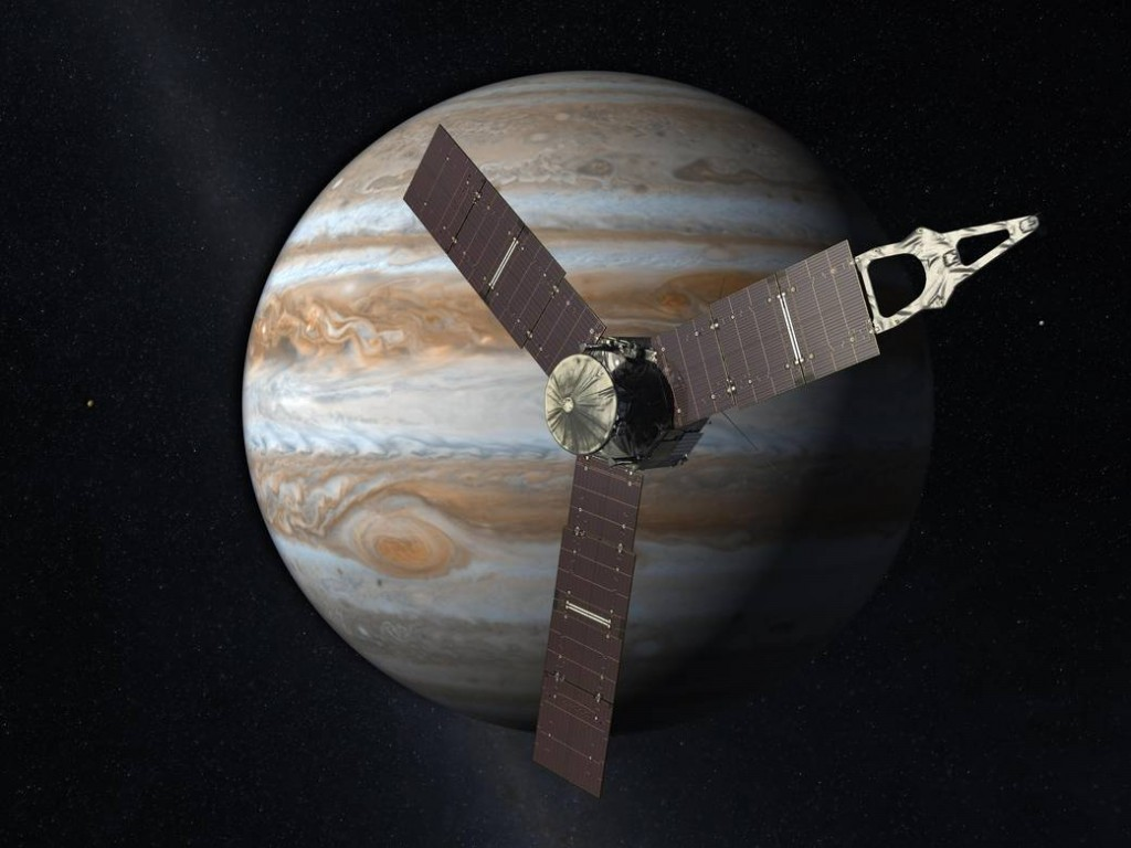 Juno. Illustrasjon: NASA/JPL