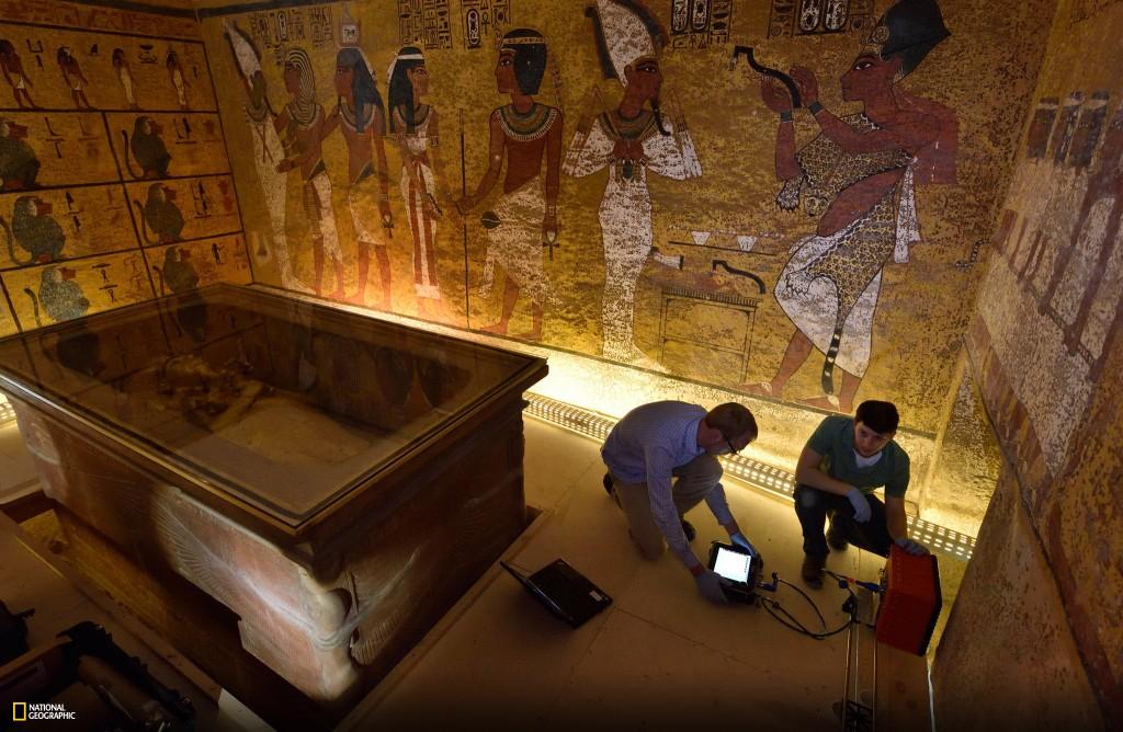 tutankhamons grav