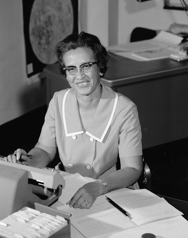 Katherine Johnson i 1966. Foto: NASA