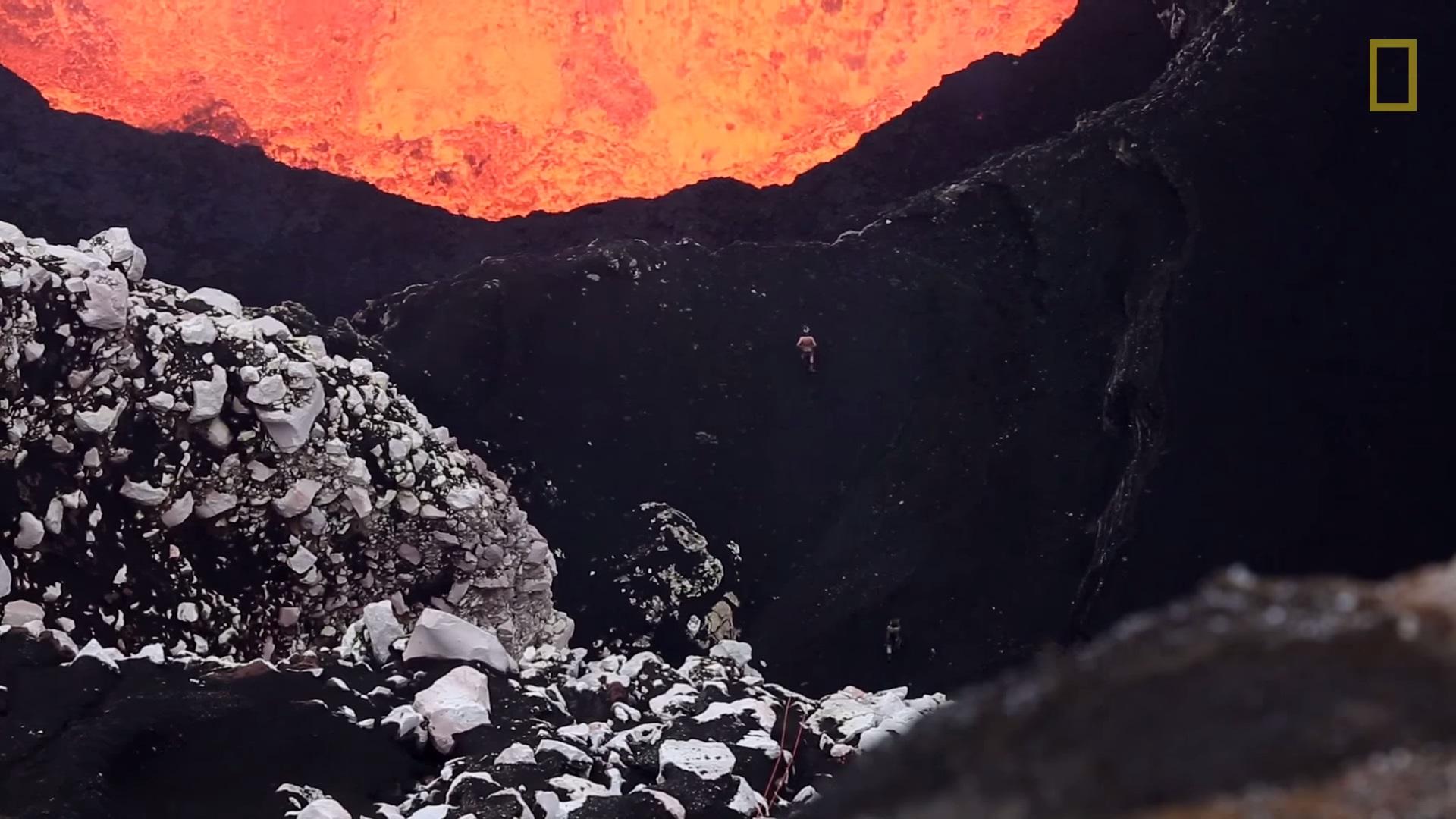 lage vulkan eksperiment